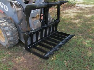 Mtl Dingo vermeer Mini Skid Steer 42 Quick Attach Hd Root Grapple ship 149