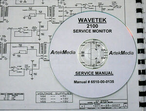 Wavetek 2100 Service Monitor Service Manual