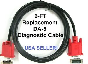 Replacement Da 5 Data Cable Connects Obd1 Adapters To The Newer Snap on Scanners