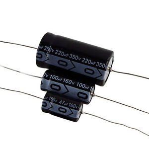 Axial Electrolytic Capacitor 47 f 250vdc