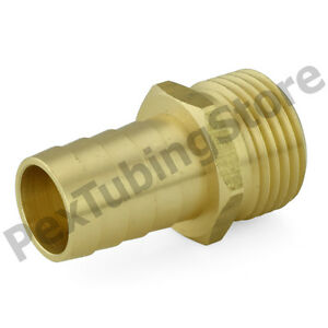 20 3 4 Male Garden Hose X 3 4 Hose Barb Brass Adapter Connector Fittings