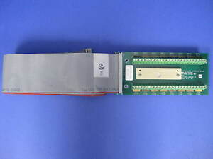 Watkins Johnson 901531 001 Thermocouple Interface Board With Ribbon Cable