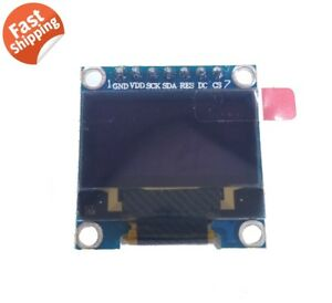 Hq 0 96 128 64 Oled Graphic Display Module Spi Lcd Color White Ssd1306