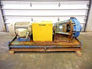 Rx 3633 Metso Hm150 Lhc d 6 X 4 Slurry Pump W 25hp Motor And Frame