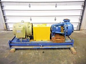 Rx 3635 Metso Mm150 Lhc d 6 X 4 Slurry Pump W 60hp Motor And Frame