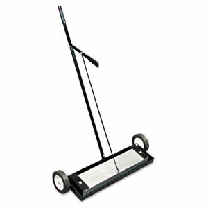Master Magnetics 24 In Magnetic Floor Release Sweeper Mfsm24rx New