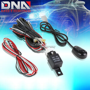 For Car auto truck Universal Fog Light Lamp Wiring Harness 12v Relay Kit switch