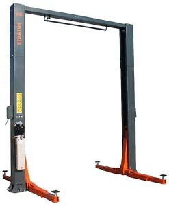Stratus 2 Post Overhead 12000 Lbs Capacity 1 Point Manual Release Car Lift