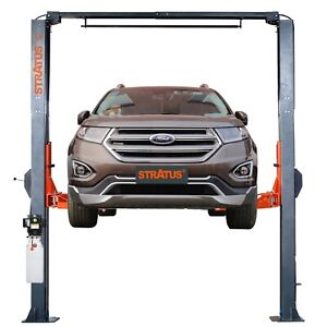 Stratus 2 Post Clear Floor Overhead 10000 Lbs Direct Drive Car Lift Sae c10