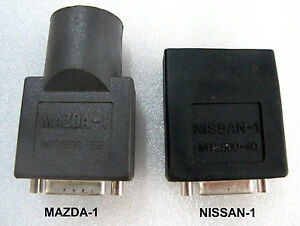 Snap On Scanner Mt2500 Solus Ethos Modis Verus Mazda 1 Nissan 1 Obd1 Adapters