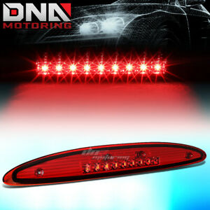 For 1997 2002 Ford Expedition Led Third 3rd Tail Brake Light Stop Lamp Red Lens