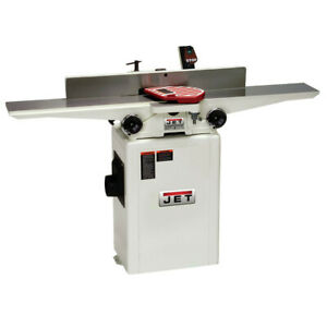 Jet 708466dxk 6 In 1hp 1 phase 27 knife Helical Cutterhead Jointer New