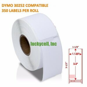 42 Rolls Of 350 Address Labels In Mini cartons For Dymo Labelwriters 30252