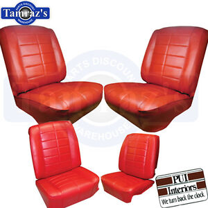 1963 Riviera Front Rear Seat Covers Upholstery Pui New