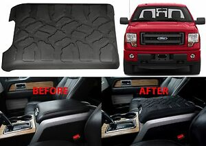 Tire Tread Center Console Cover Armrest Cushion For 2009 2015 Ford F 150 New Usa