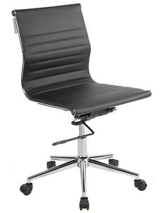 Lone Star Chairs Armless Mid back Desk Chair