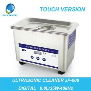 Digital Dental Ultrasonic Cleaner Stainless Steel Cleaning Equipment W Timer