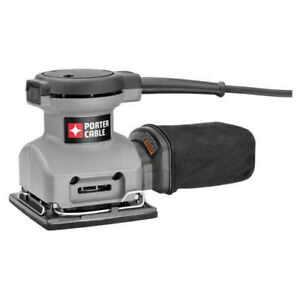 Porter-Cable 2.0 A Dual Plane 14 Sheet Orbital Finish Sander 380 New