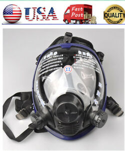 Full Face Facepiece Respirator Painting Spraying Gas dust Mask For 3m 6800 Us