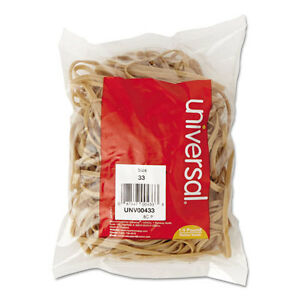 6 400 Universal Rubber Bands Size 33 3 1 2 X 1 8 Unv00433