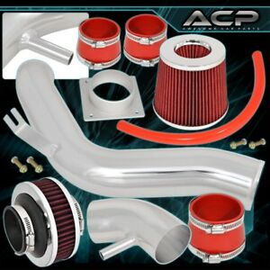 For 2002 2006 Nissan Altima 2 5l Race High Flow Air Intake Cold Polish Bypass