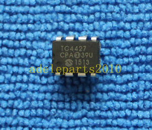 5pcs Tc4427cpa 1 5a Dual High speed Power Mosfet Drivers