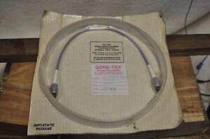 Gore tex 18 Microwave Coaxial Cable G5c01c01 Very Nice New