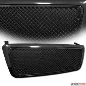 For 04 08 Ford F150 Blk Bentley Mesh Front Hood Bumper Grill Grille Replacement
