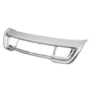 Cpp Chrome Center Bumper Grille Ch1037107 For 2011 2016 Jeep Grand Cherokee
