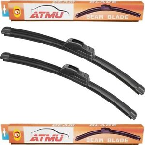 02 06 Toyota Camry 24 19 Windshield Wiper Blades Set Frameless All Season
