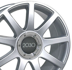 18 Silver Rs4 Style Wheels Set Of 4 Rims Fit Audi A4 A6 A8 Allroad Tt Oew