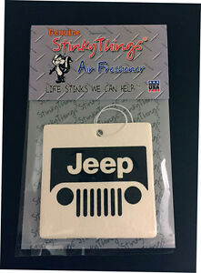 Jeep Air Freshener Cherry Scent Cj Yj Decal Shirt Wrangler Interior Parts