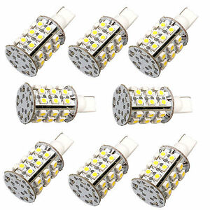 8 pack Hqrp T10 W5w 194 168 Led Bulbs Warm White For 280 1250 1252 2450 2652
