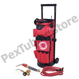 Turbotorch 0386 0578 Tdlx 2010b Carrier Roller Outfit Tote Kit Air Acetylene
