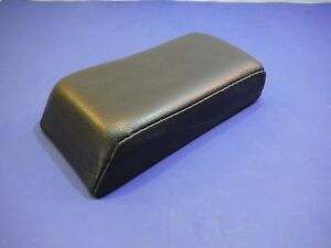 New Center Console Arm Rest Cushion Pad Black 7 5 8 X4 1 16 X1 3 4