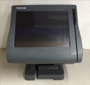 Micros Point Of Sale Pos Workstation 4 400614 001 System Unit W Compact Flash