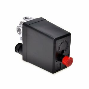 Heavy Duty Air Compressor Switch Control Pump Pressure Valve Solid 90 120psi
