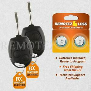 2 For 2010 2011 2012 2013 Ford Transit Connect Keyless Entry Remote Car Key Fob