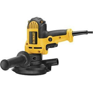DEWALT 5 in. Variable Speed Disc Sander with Dust Shroud DWE6401DS New