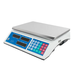 Usa Digital Weight Scale 30kg Food Meat Preparation Equipment Produce Industrial