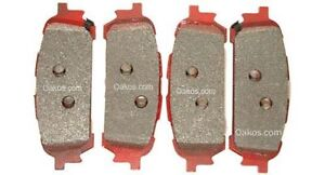 Carbotech Rear Brake Pads For 04 05 Wrx Part Ct1004 Xp12