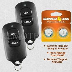 2 For 2000 2001 2002 2003 Toyota Tundra Keyless Entry Remote Car Key Fob