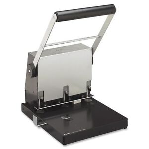 Carl Heavy duty 3 Hole Punch 3 Punch Head s 300 Sheet Capacity 9 32