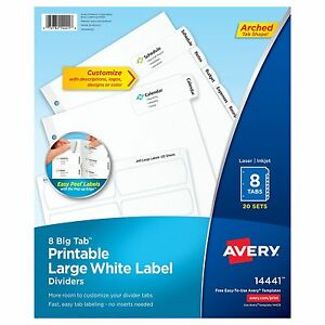 Avery Tab Divider ave 14441 ave14441