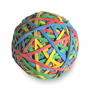Acco Rubber Band Ball 1 Each Assorted acc72155