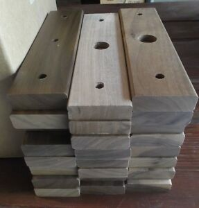 24 Lids Only Trophy Parts For 2 Post Style Solid Walnut Wood