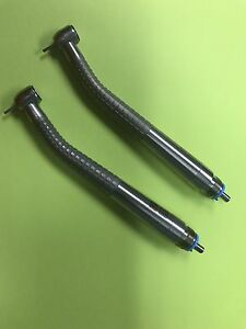 Dental Handpiece midwest Tradition Push Button Lot Of 2 Non Optic