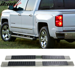 For 07 17 Chevy Silverado Sierra 1500 Ext Cab 5inch Side Step Bar Running Boards
