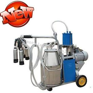 Electric Cow Piston Milking Milker Machine For Cows Bucket
