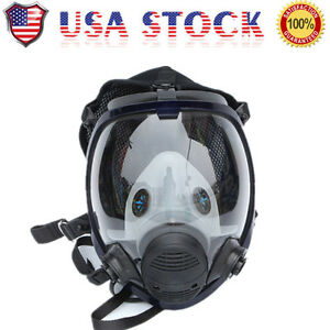 Gas Mask Full Face Painting Spraying Similar As 6800 Facepiece Respirator